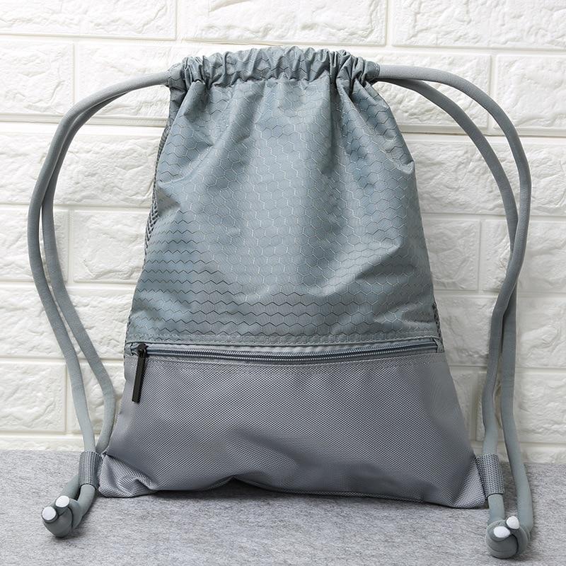 Customizable Drawstring Bag Sports Bag Basketball Bag Zu Qiu Dai Drawstring Backpack Large Capacity Sports Training Package Stor