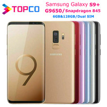 "Samsung GALAXY S9 + S9 Plus G9650 128GB Dual SIM Asli Ponsel Snapdragon 845 Octa Core 6.2"" dual 12MP Ram 6GB ROM NFC(China)"