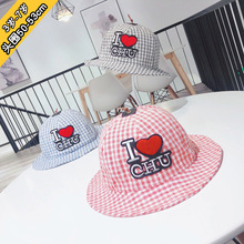 48-50cm 1Y-3Y Childrens hats paragraphs spring han edition  baby hat thin basin shading stuff kids
