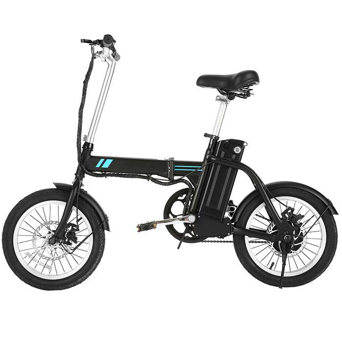 ANCHEER Aluminium Falten Elektro-bike mit 36V 7.8/14,5 AH Lithium-Ionen Batterie, Klapp EBike 16 zoll