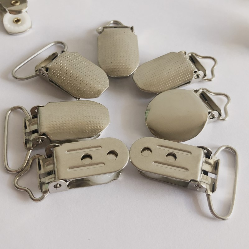 "32mm 1.25/"" 1.5/"" 38mm Suspender Ribbon Paci Pacifier Clip Hooks Webbing Bronze"