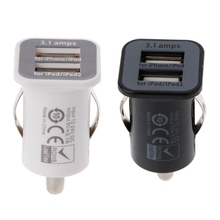 Auto High Quantity Dual USB Charger Adapter Socket Car Cigarette Lighter Charge