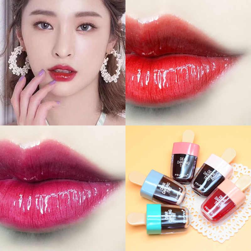 5 pièces/ensemble Style coréen mignon crème glacée teinte pour les lèvres maquillage liquide rouge à lèvres hydratant brillant à lèvres imperméable à l'eau durable Lipgloss cosmétique