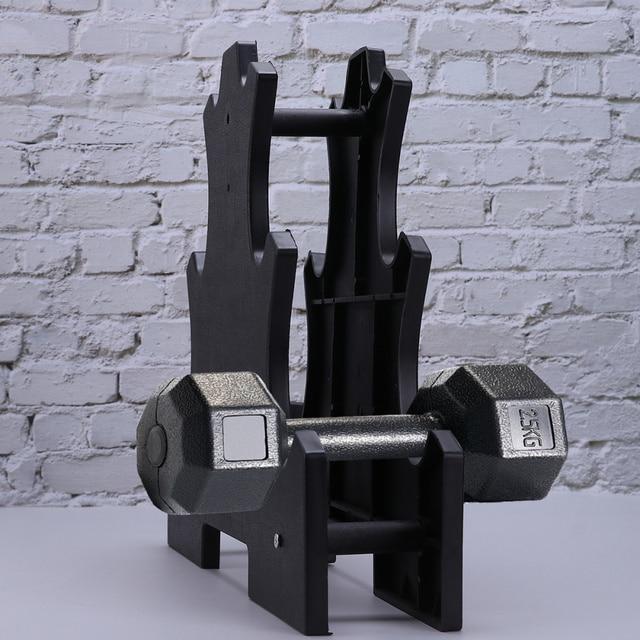 Dumbbell Bracket Practical Dumbbell Dispaly Rack Fitness Equipment 1