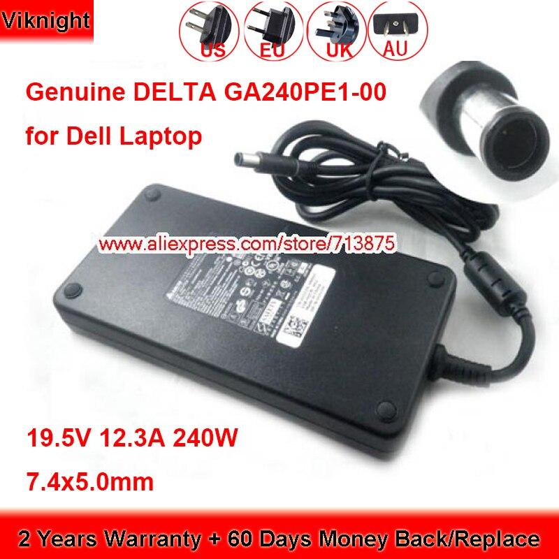 Натуральная DA150PM100-00 AC адаптер переменного тока 19,5 в 12.3A для DELL Precision M6500 M6600 M6700 M17X J211H PA-9E ноутбук Питание