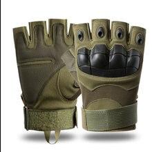 Военные тактические перчатки без пальцев для пейнтбола страйкбола
