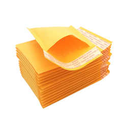 Available In Multiple Sizes Wholesale Golden Kraft Paper Bubble Envelopes Padded Mailers With Bubble Mailing Bag,Jiffy bags