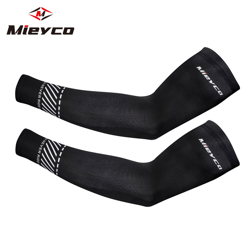 Men mangas para brazo esporte ciclismo correndo bicicleta uv proteção solar manguito capa de proteção braço manga braço da bicicleta aquecedores mangas
