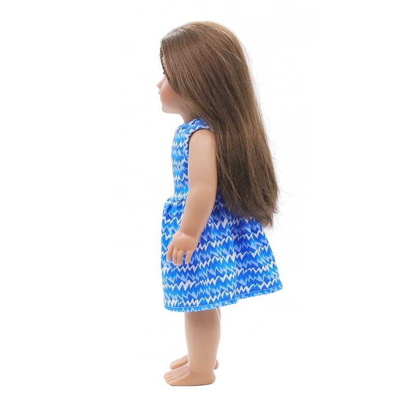 สาวของขวัญอเมริกันตุ๊กตาเสื้อผ้าสำหรับ 18 นิ้วอเมริกันและ 43 ซม.ใหม่ตุ๊กตาเด็กตุ๊กตา Generation ของเราเสื้อผ้า