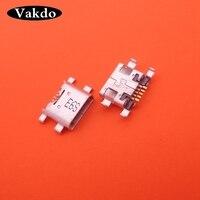 10 pçs micro mini usb carregamento jack tomada conector doca plug porto para huawei p7 p8 lite (2017) jogar 5c maibang 6 honra 8|Fios flexíveis de telefone celular| |  -
