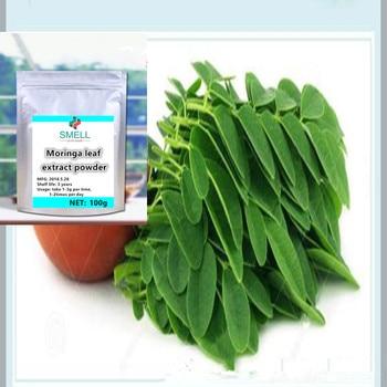 100-1000g High quality, no additions 100% pure Natural Moringa oleifera leaf extract 1pc moringa powder /la mu ye/ Blood Sugar .
