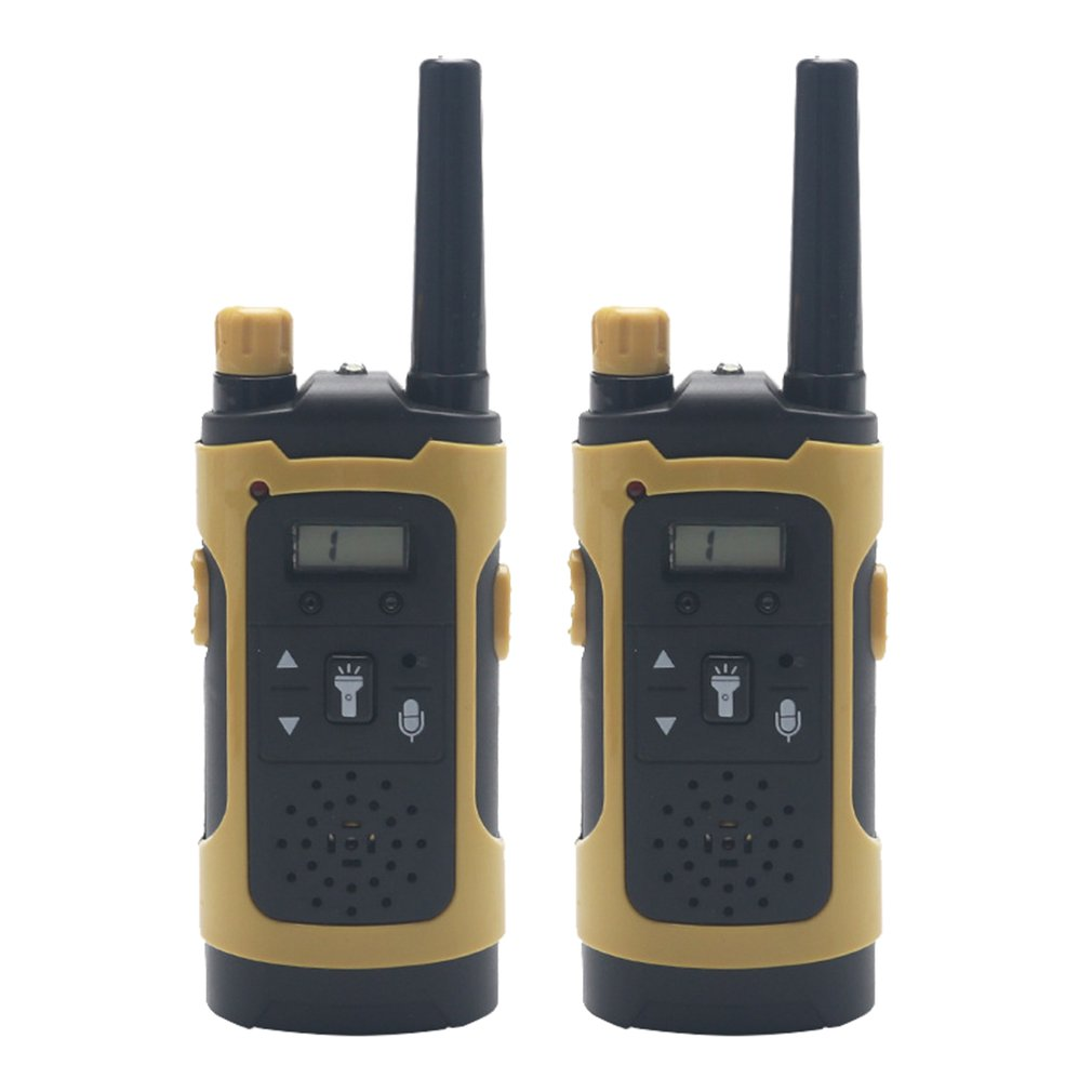 Mini Kids Walkie Talkies Toy Child Electronic Radio Voice Interphone Toy Outdoor LCD Display Walkie Talkies Toy