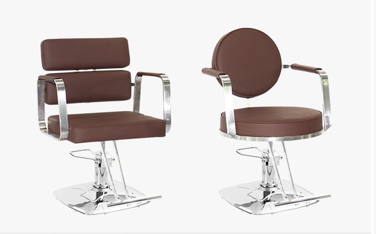 Barbershop Web Celebrity Chair Chair For Hair Salon Chair Stool High-grade Hairdressing Chair Cutting Hair Chair Can Be Raised
