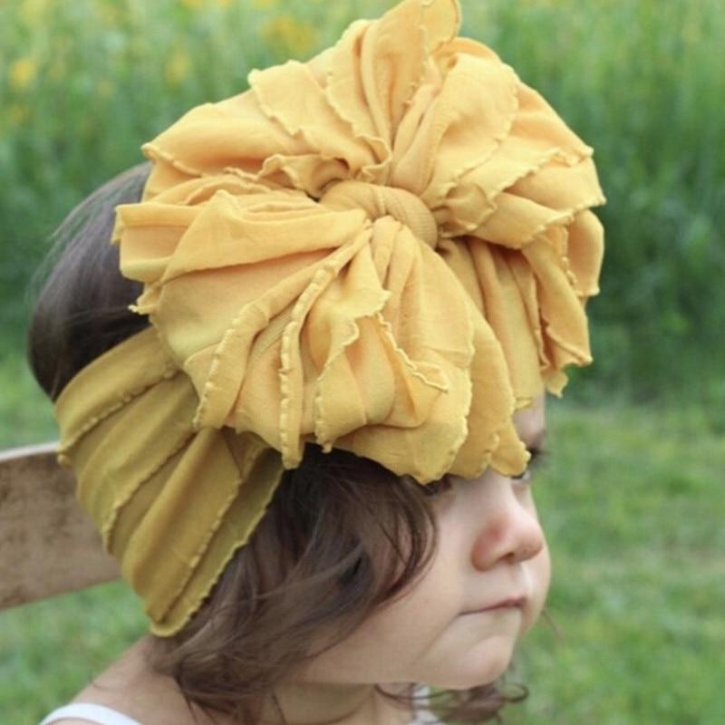 Baby Hair Accessories Bandeau Bebe Fille Headband Baby Girl Headbands For Girls Baby Headband Baby Turban Bows Diadema Bebe