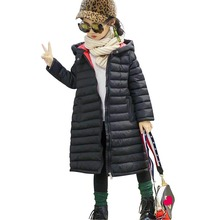 3 7 9 10 Year Girl Winter Cotton-Padded Jacket Boys Children #8217 s Fashion Coat Kids Outerwear Baby #8217 s Warm Jacket Children Clothing cheap 0 56kg ModaL NYLON Long Patchwork Fits true to size take your normal size zipper Solid Corduroy REGULAR Girls Hooded FC151