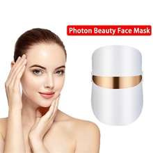 Belleza Facial Masque LED Facial Mask Beauty Skin Rejuvenation Photon LED Mask Red light Therapy Wrinkle Acne Tighten Skin Care