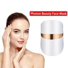 Belleza yüz maskesi LED yüz maskesi güzellik cilt gençleştirme foton LED maskesi kırmızı ışık tedavisi kırışıklık sivilce sıkın cilt bakımı