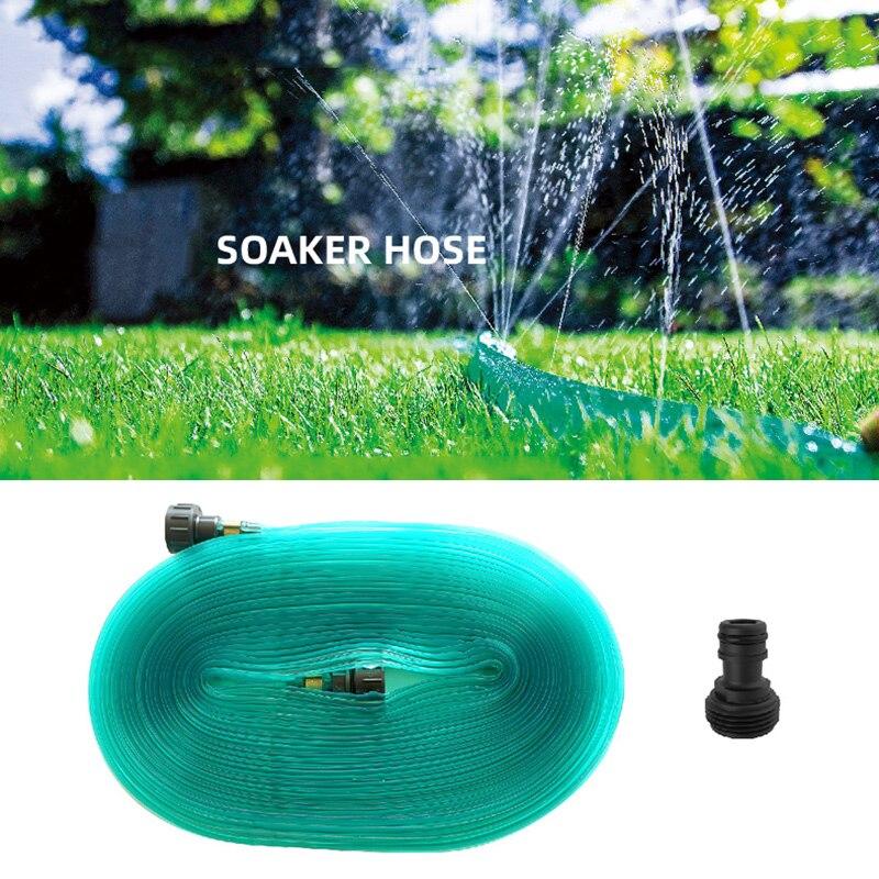 PVC Schlauch Rasen Sprinkler Rohr mit 3/4 Stecker 12 Meter Rasen Schlauch Rasen Bewässerung H88F