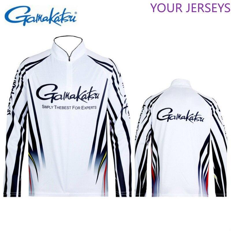 2020 Summer New Gamakatsu Clothing Long Sleeve Quick Dry Fishing Clothing Anti-UV Sunscreen Fishing Clothes Fishing Shirt DAIWA