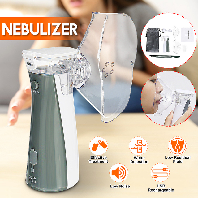 Portable nebulizer Mini Handheld inhaler nebulizer for kids Adult Atomizer nebulizador medical equipment Asthma Steaming Device