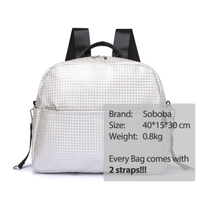 Image 5 - Soboba Mommy Maternity Diaper Bags Solid Fashion Large Capacity Women Nursing Bag for Baby Care Stylish Outdoor Mommy Bags