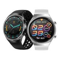 Reloj inteligente Q8 para hombre, pulsera deportiva completamente táctil de 2021 pulgadas, con Larga modo de reposo de 1,3 mah, puede responder a llamadas, VS L13 L16 GT 2, 600