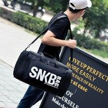 2021 Men Women Gym Bag For Sneaker Shoes Compartment Packing  Organizer Waterproof Nylon Sport Travle Duffel Bags Wholesale
