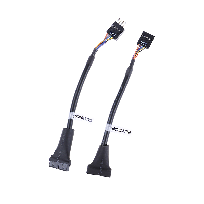 USB 3.0 20 Pin Motherboard Header To Usb 2.0 9 Pin Adapter Converter Cable Male Female For Computer PC Adapter Cord