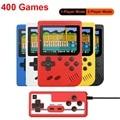 Ретро Портативный Мини Портативная приставка для видеоигр 8-битный 3,0 дюймов Цвет ЖК-дисплей игровая консоль Встроенный 400 игры для детей