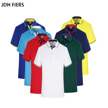 JOH FIERS Breathable Brand New 2019 Arrived Polo Shirts Short Sleeves Men Classic Design Solid Color S-3XL