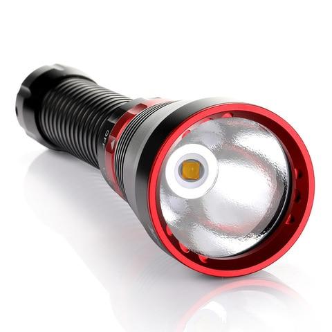 new Led Diving Flashlight 6000 Lumens XHP70.2 Yellow Light Super Bright 100M Underwater Scuba Diving Torch Light Multan