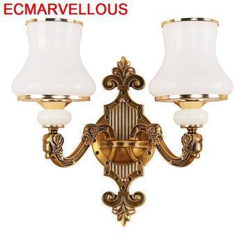 Lampen Modern Sconce Deco Lampara Pared de Maison Decoração Murale Wandlamp Applique Luz Do Quarto Lâmpada de Parede Luminária Industrial