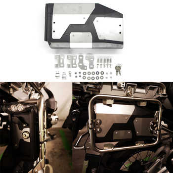 All New For BMW R1250GS R1200GS adv LC Adventure 2014-2019 Decorative Aluminum Box Toolbox 4.2 Liters Tool Box Left Side Bracket - DISCOUNT ITEM  20% OFF All Category