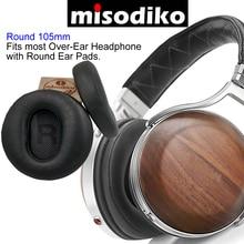 Misodiko [couro de cordeiro] fones de ouvido substituição almofadas para denon AH D7200 AH D9200 AH D5200 AH D5000 AH D7000