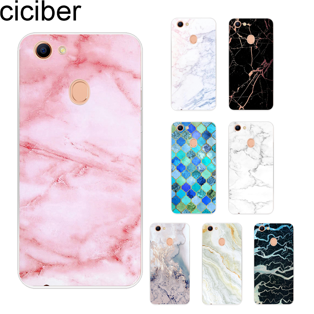 ciciber Marble For <font><b>OPPO</b></font> A59 F1S A57 A37 <font><b>A39</b></font> A83 A7 A5 A3S F11 F5 Youth Cover Phone <font><b>Cases</b></font> Soft Silicone TPU Fundas Shell Coque image