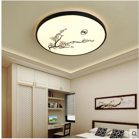 China wind lamp modern creative LED bedroom restaurant bedside ceiling lamp in Ceiling Lights from Lights Lighting