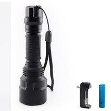 high Powerful flashlight led torch XM T6 Tactical flash ligh