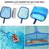 Swimming Pool Net Tool Shallow/Deep Water Fishing Net Pool Cleaning Net Equipment Home Outdoor Fishing Pool Cleaner Accessories