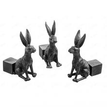 3pcs Creative Animal Flower Pot Holder Resin Statue Flower Pot Holds Up Planters For Outdoor Backyard Porch Patio Lawn Pot Trays