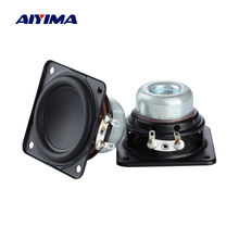 AIYIMA 2Pcs 2 Inch Full Range Audio Speaker 48mm 4 Ohm 15W Hifi Stereo Loudspeaker DIY Home Theater Bluetooth Speaker Amplifier