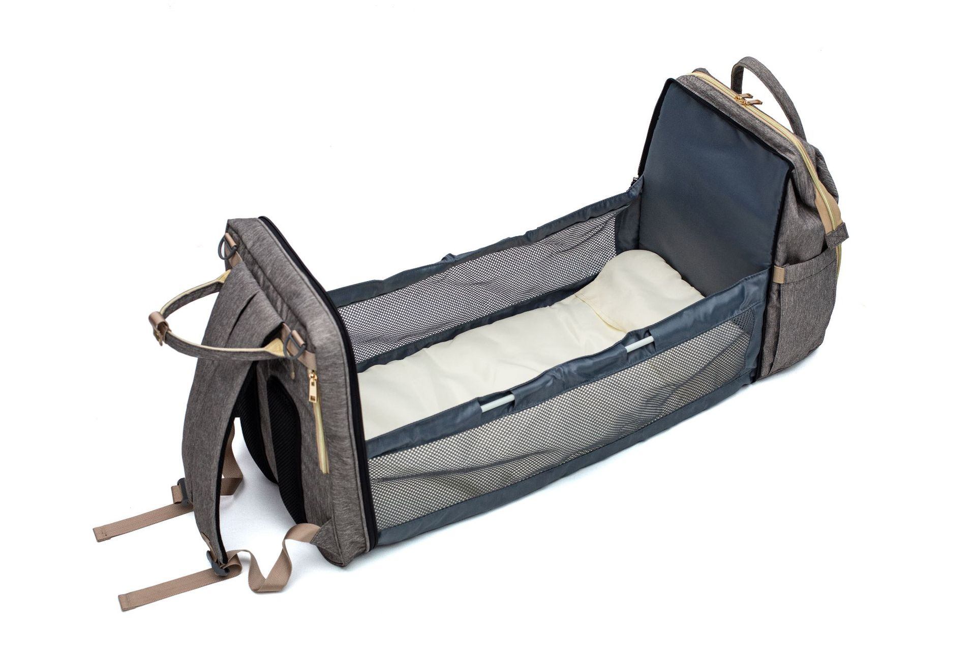 Mommy Crib Backpack | Multifunctional Travel Bag