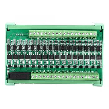 fast shipping china high quality xinje programmable logic controller plc module xc3 series 16 Channel Relay Module Amplifier PLC Board Isolation Relay Board Input NPN Output DC 12-36V Programmable Logic Controller