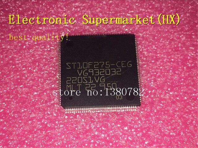 Free Shipping 20pcs/lots ST10F275 CEG ST10F275 10F275  QFP 144 New original IC In stock!