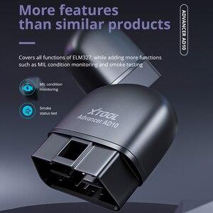 Image 5 - XTOOL AD10 OBD2 אבחון סורק Bluetooth ELM327 מהנדס קוד לקרוא לעבוד עם iOS/אנדרואיד ו HUD ראש Up Display