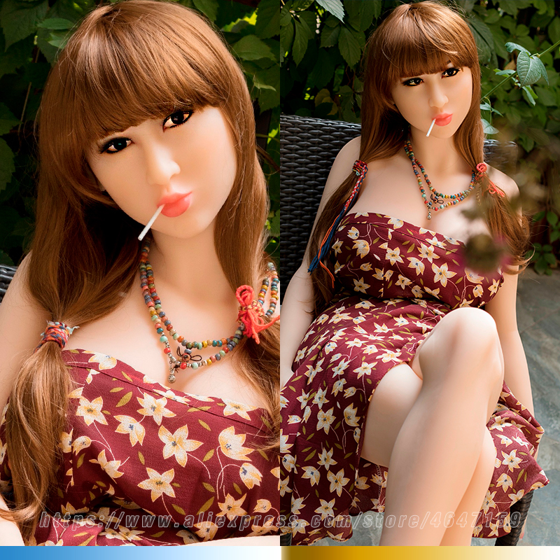 NEW 145cm Phoebe Seamless Real Life Sex Doll Japanese Silicone Love Dolls for Men Lifelike Vagina