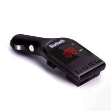 цена на Bluetooth Car Kit MP3 Player FM Transmitter Handsfree Wireless FM Modulator Support TF Micro SD USB Music Playing