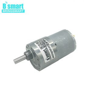 JGB37-3530 12V 24 Volt Micro Motor Smart Apparaat Gear Motor Card Feeder Elektrische Motor 12-960 Rpm D as 37 Mm Diameter Versnellingsbak(China)