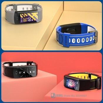 2021 Silicone Bracelet Smartwatch Men Women Smart Watch Fitness Tracker For Android iOS Smart Clock Sport Waterproof Smart-Watch 4
