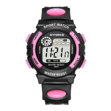 PANARS Hot Classic Children Watches For Girls Digital Alarm Wrist Watch