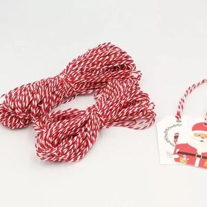 Image 5 - 100 adet/grup beyaz noel kağıt etiketleri bagaj düğün not boş fiyat etiketi asın Merry Christmas hediye kartı halat 6.8*4.5cm